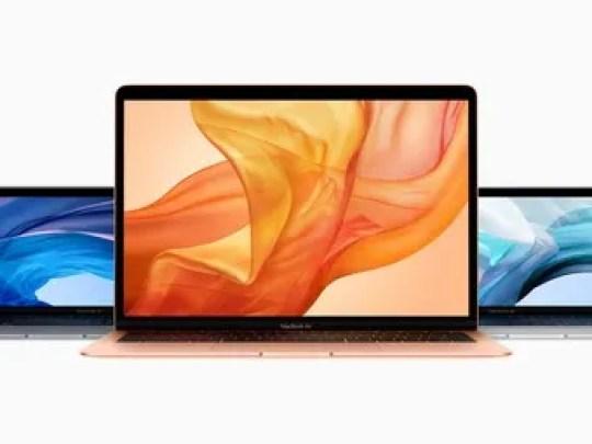 New MacBook Air lineup