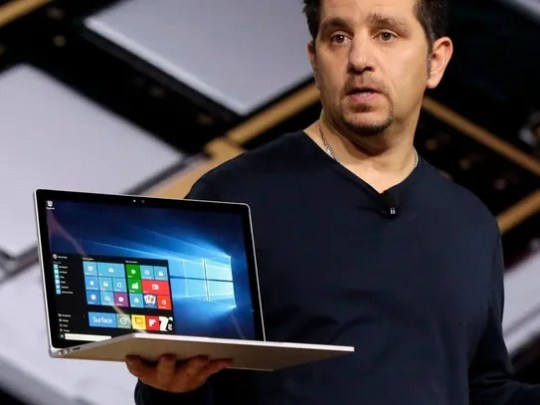 Microsoft vice president for Surface Computing Panos