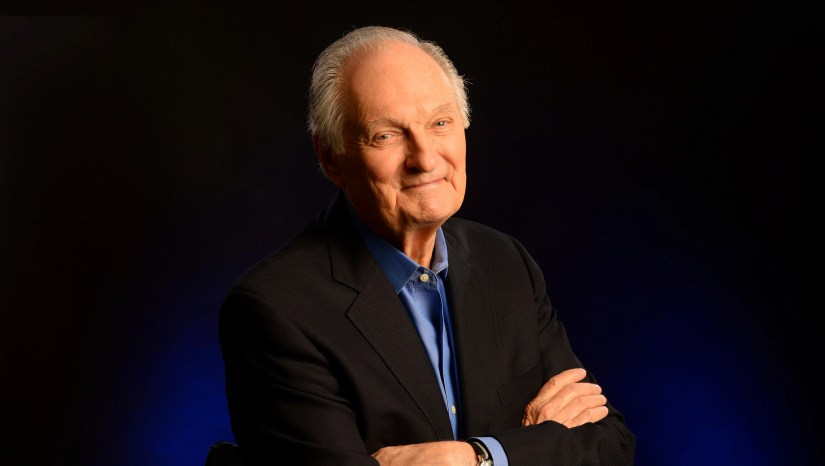 Alan Alda says he was diagnosed with Parkinson's disease three and a half years ago,