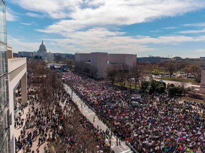 March for Our Lives 2018: Aerial images show massive turnout