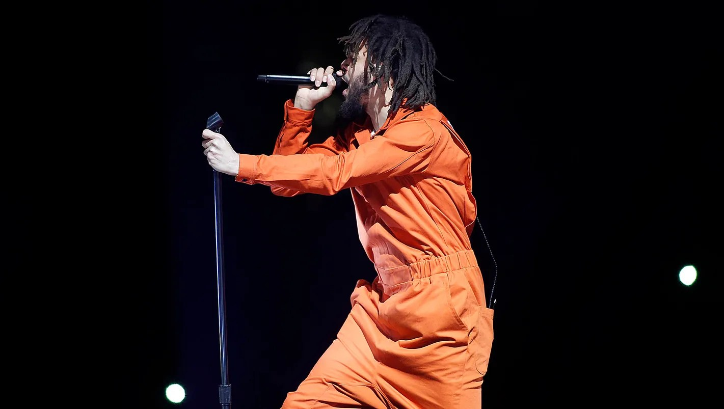 J Cole Concert Review A Brilliantly Staged Performance