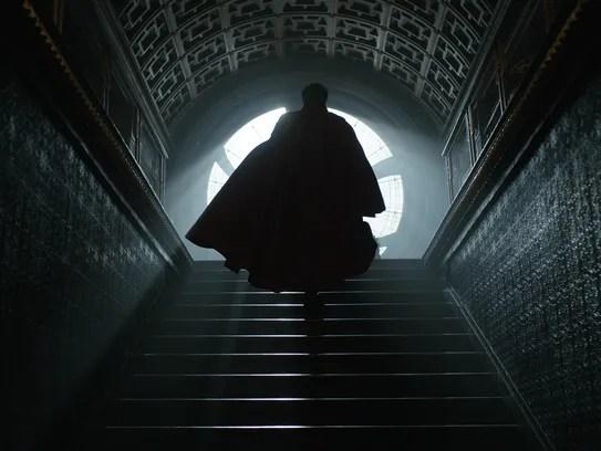 Stephen Strange (Benedict Cumberbatch) brings magic