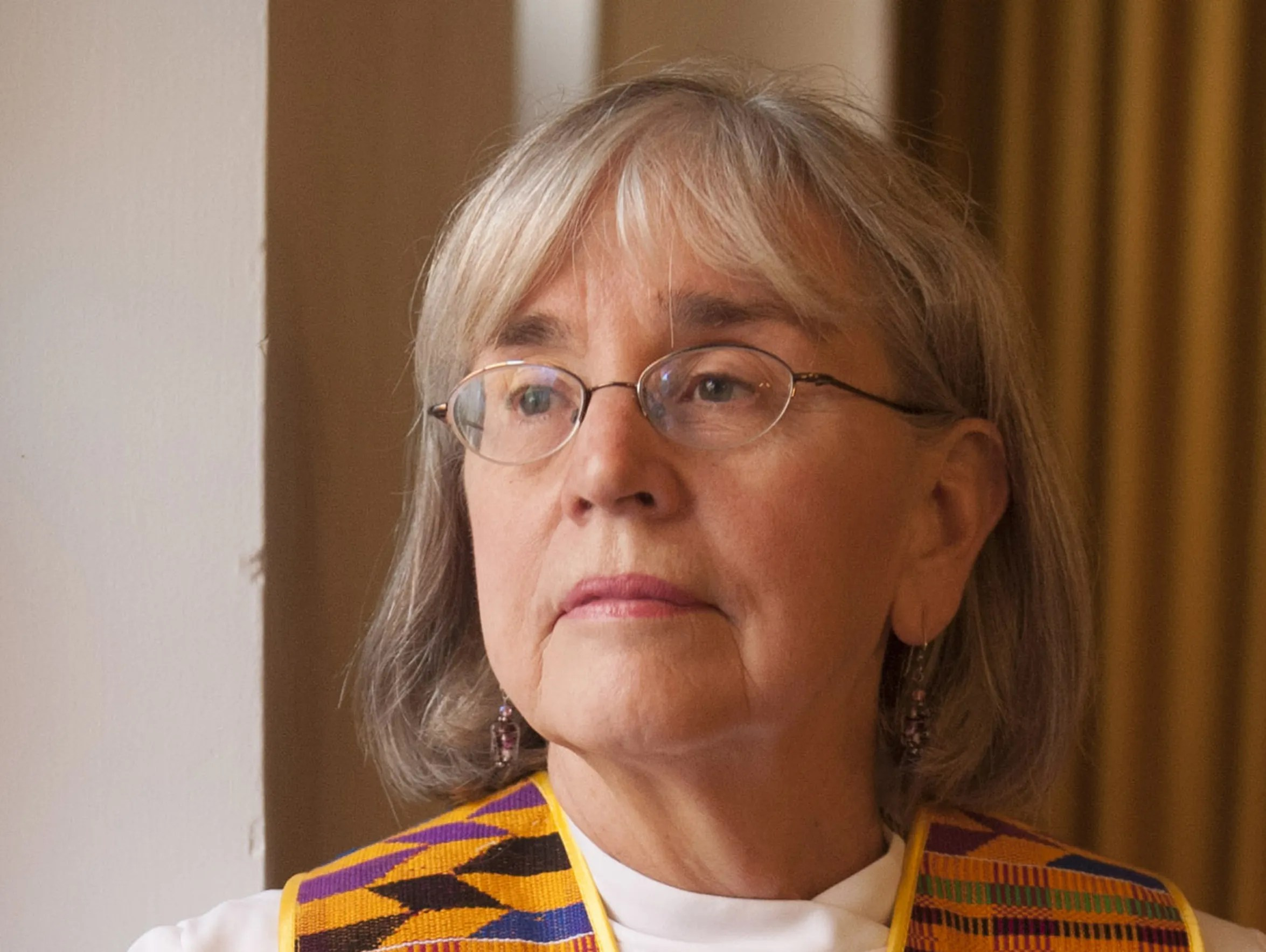 Eileen DiFranco calls herself a Roman Catholic priest,