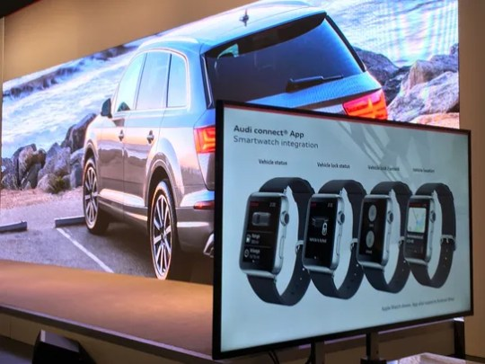 Audi Connect now features smartwatch integration for