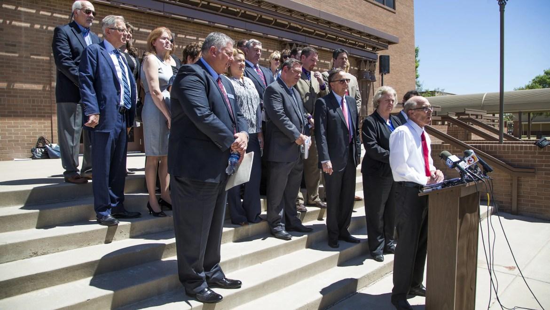 Gov Doug Ducey Blames Trial Lawyers For Latest School Lawsui