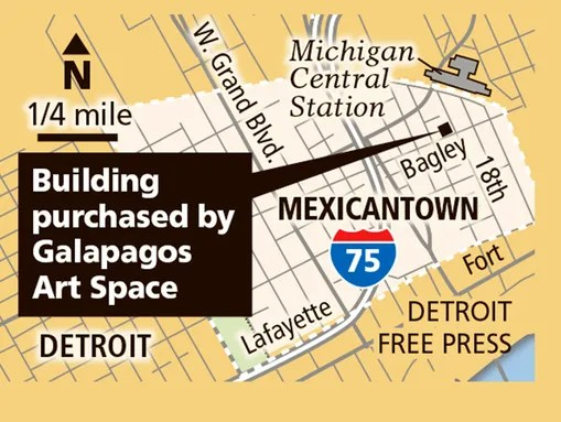 Location of Mexicantown building purchased by Galapagos