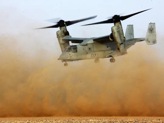 Marine Family To Sue Over Fatal Osprey Crash