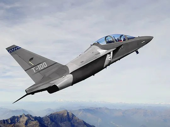 The T-100 will provide the US Air Force with state-of-the-art