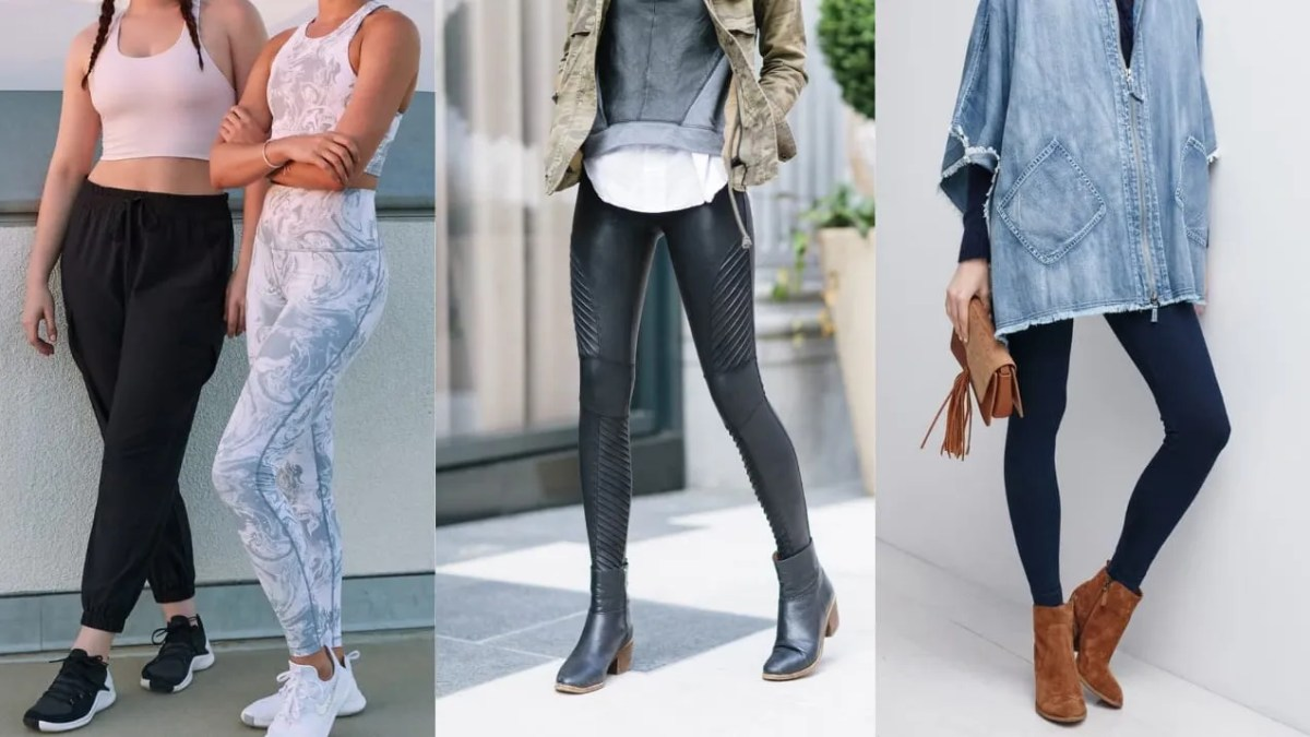 Leggings may undoubtedly be fashionable, but they are not always appropriate in the workplace.