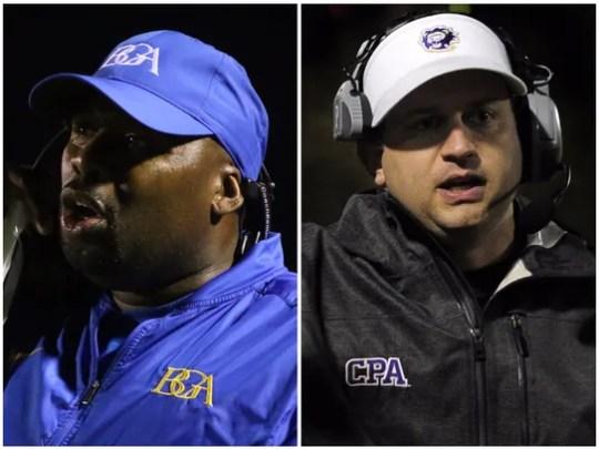 BGA coach Roc Batten (left) and CPA coach Ingle Martin
