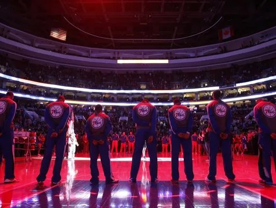 The 76ers told the AP last year that the team expects