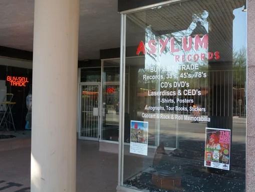 Asylum Records in Mesa