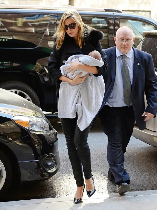 New Mom Ivanka Trump Makes Stylish Hospital Exit
