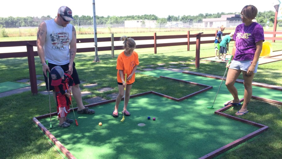 Cheap summer fun  Miniature golf