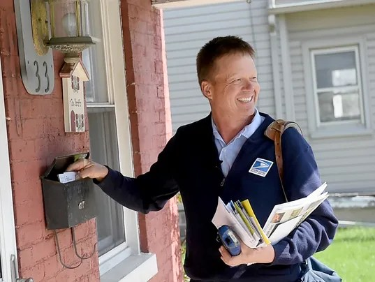 He Was Dover S Mailman For 23 Years He Recently Said Goodbye
