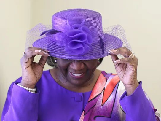 Sharon Taylor attends Calvary Baptist Church in West