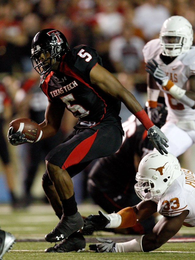 WR: Michael Crabtree, Texas Tech