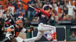 The Latest: Soto hits two-run double, Nats take 5-2 lead