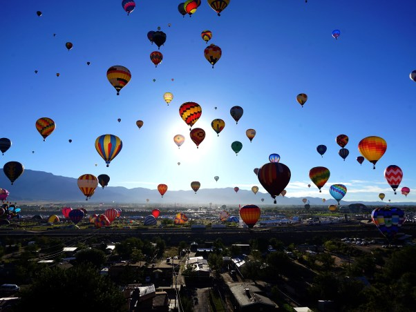 Image result for albuquerque international balloon fiesta