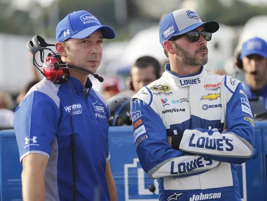 Jimmie Johnson,Chad Kanus