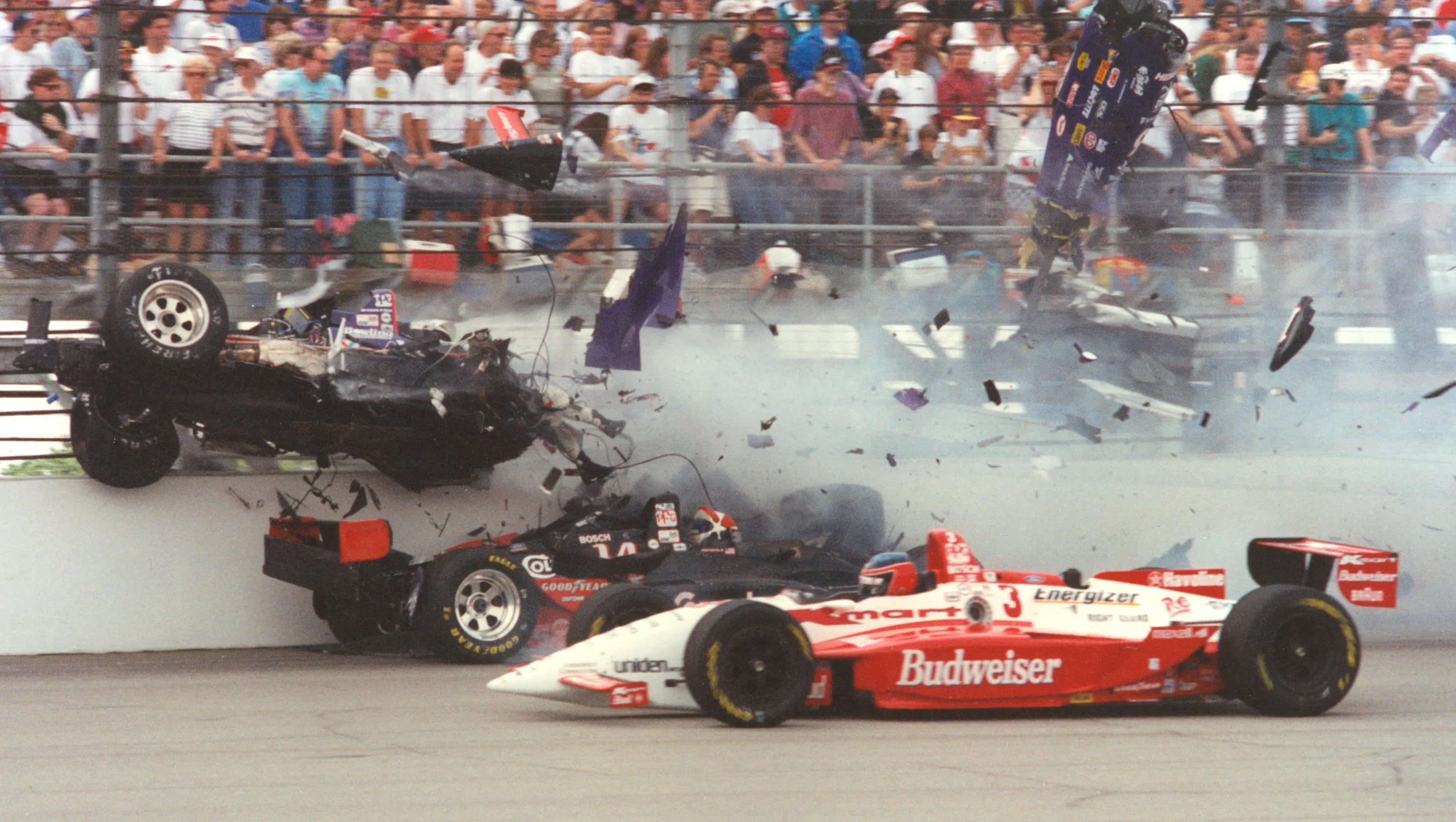 1995 Indy 500 Wild Bizarre Preposterous And Completely