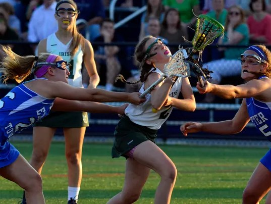 PHOTOS: York Catholic vs Exeter in District 3 girls lacrosse