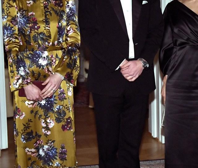 Duchess Kate Prince William Swedens Crown Princess