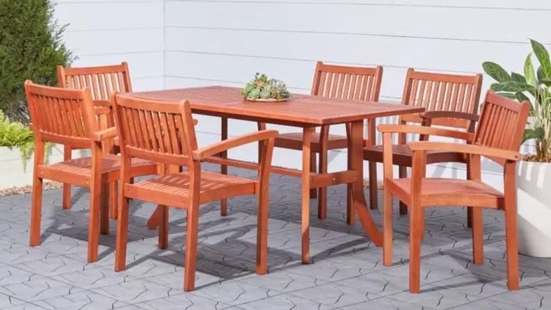 patio sets you need for dining outdoors