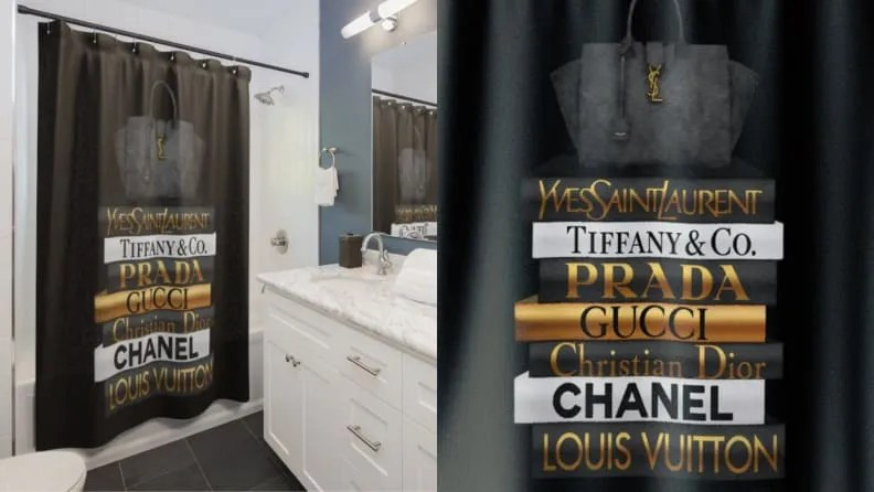 18 unique shower curtains to give your