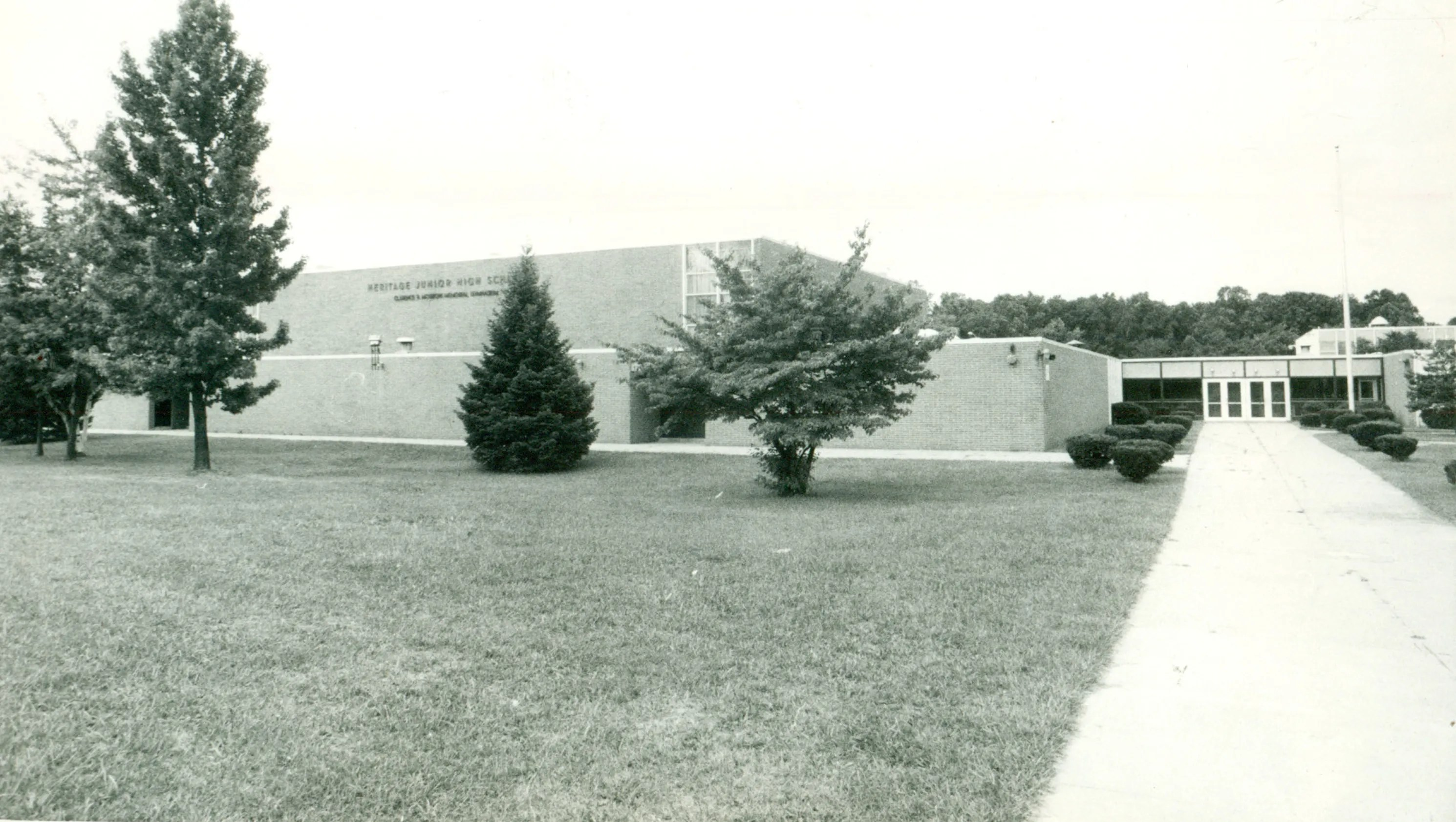 A Look Back Heritage Junior High School