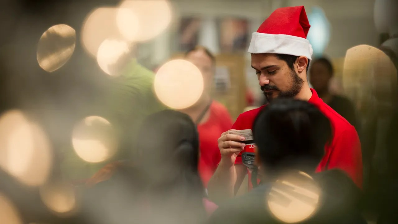 Video Santa Joins Jc Penney Staff Ahead Of Thanksgiving Shopping