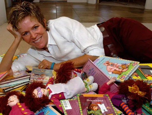 Author Barbara Park of The Junie B. Jones book series.