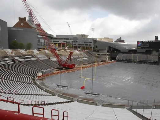 Pictures Uc Expansion Nippert Stadium