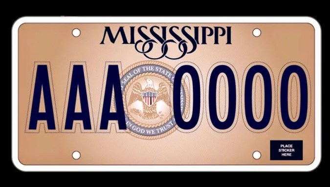 In God We Trust  will be on new Mississippi license plate  In God We Trust  will be on new Mississippi license plate