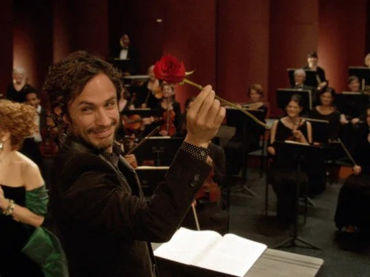 Gael Garcia Bernal stars as an up and coming conductor
