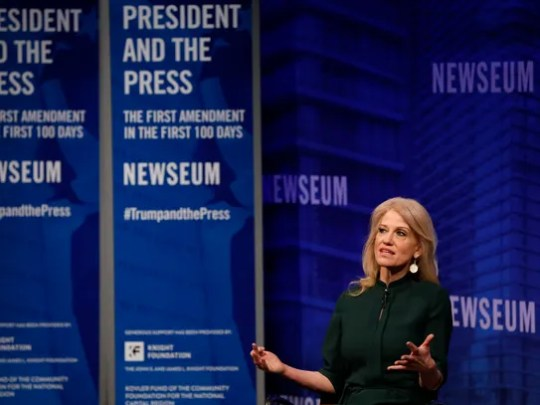 Kellyanne Conway, counselor to the President, speaks