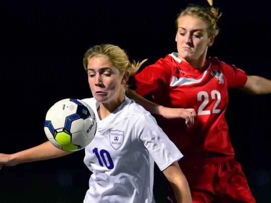 Susquehannock vs Northern York  girls semi-final soccer