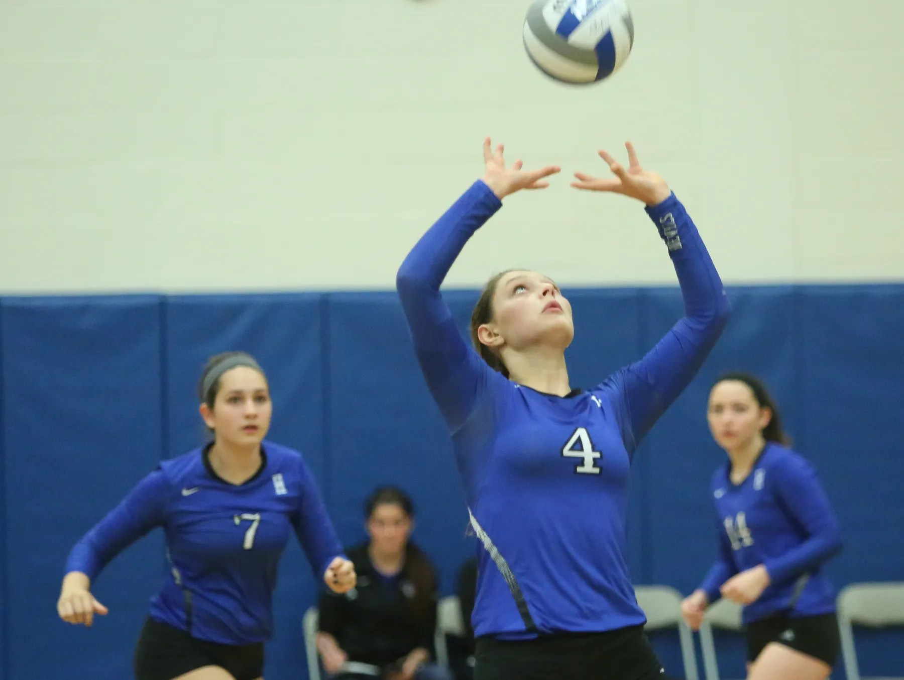 Volleyball Haldane Sweeps Regional Semifinal With Ease Usa Today