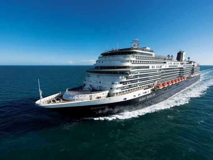 Holland America's newest ship, the 2,650-passenger
