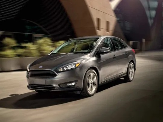 Ford discontinued the Focus compact car for the U.S. market.