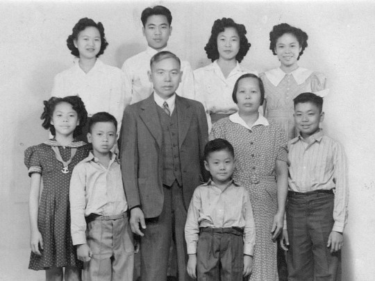 The Song family in Scottsdale in the 1940s.