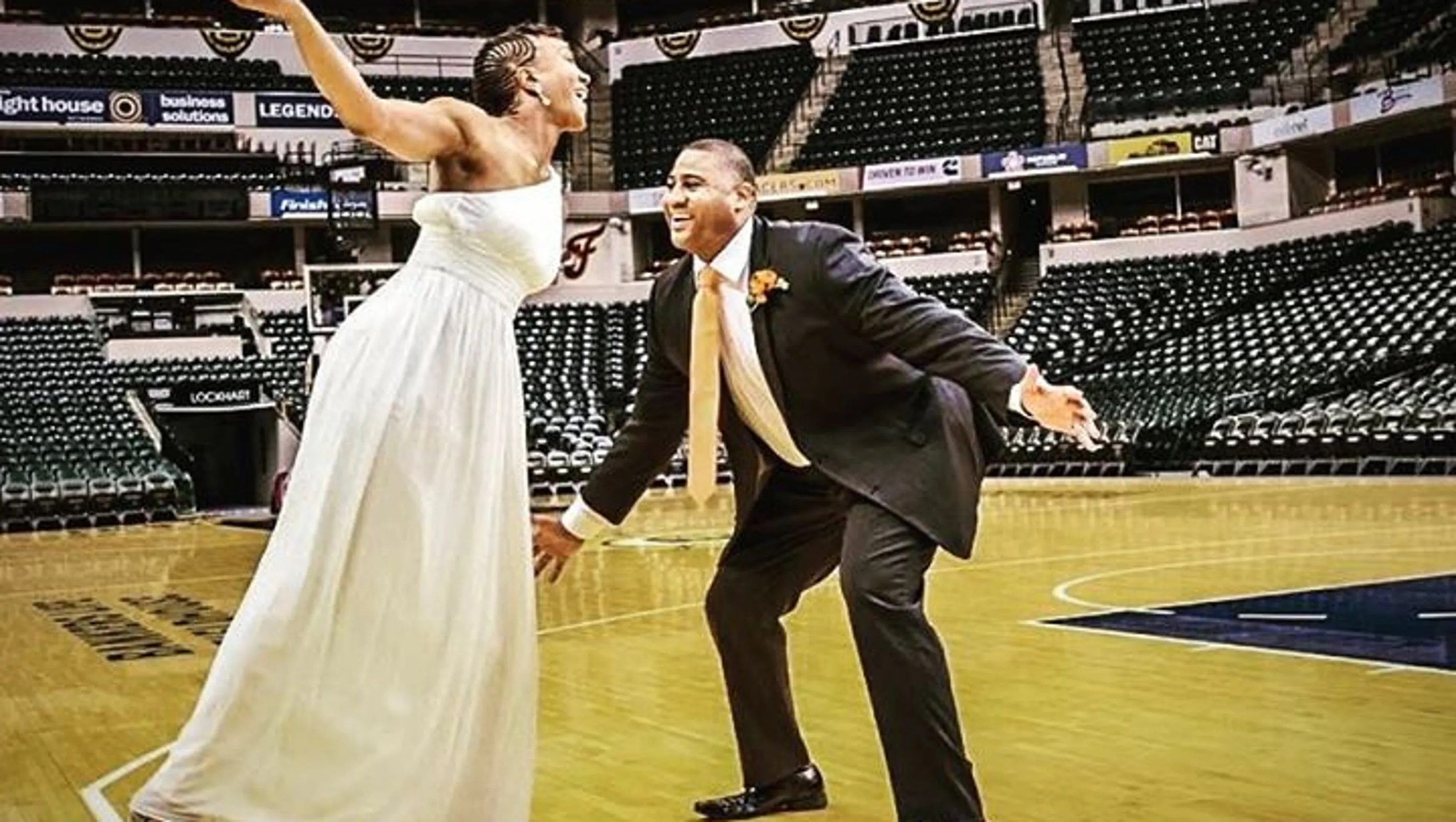 Tamika Catchings Reveals Marriage Details And More