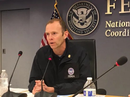 Brock Long is administrator for the Federal Emergency Management Agency.