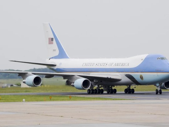 President Donald Trump wants to change the iconic blue-and-white color scheme of Air Force One.
