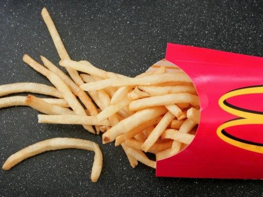 French fries from McDonald's