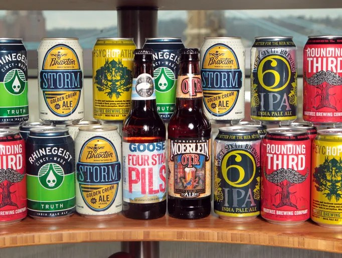 A variety of craft beer will be  available at Great