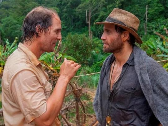 Matthew McConaughey (left) and Edgar Ramirez star in