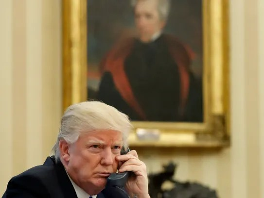Image result for trump andrew jackson portrait
