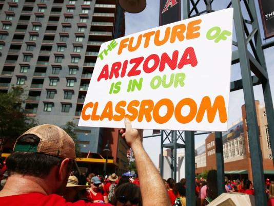 Arizona Lehrer Walkout