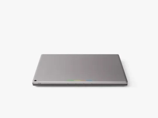 The Pixel C in its closed position.